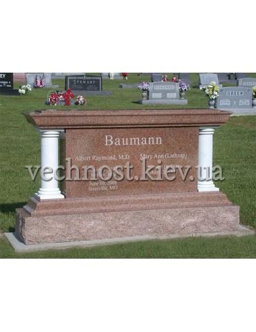 Памятник из гранита Европейский №67