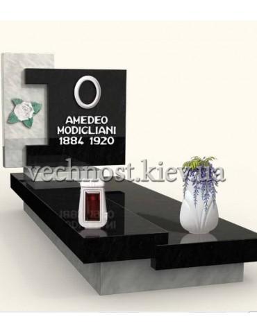 Памятник из мрамора Италия 12