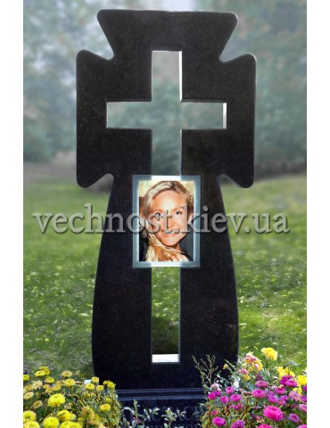 Памятник из лабрадорита - Казацкий крест