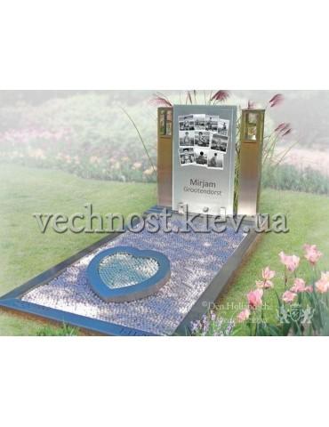 Памятник со стеклом Голландский №1