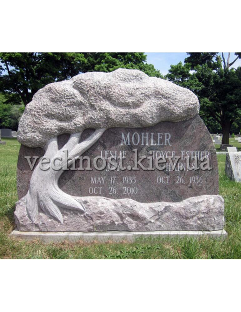 Памятник из гранита Европейский №62