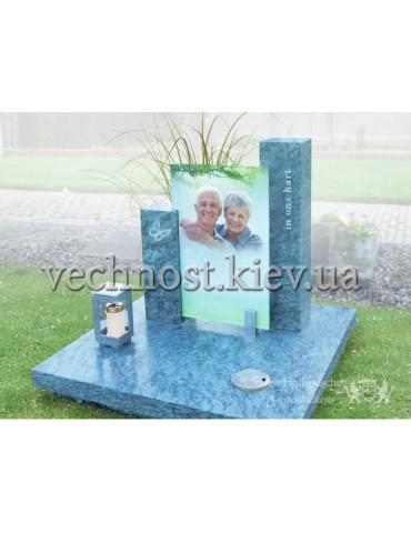Памятник со стеклом Голландский №23