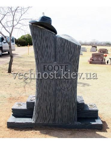 Памятник из гранита Европейский №68