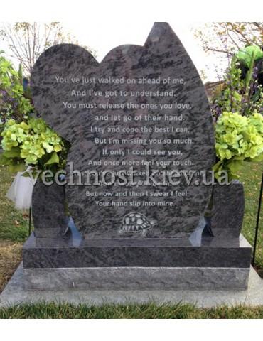Памятник из гранита Европейский №35