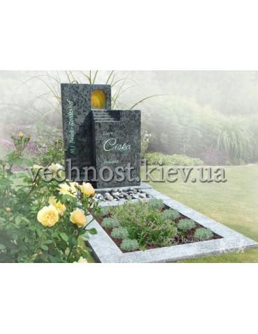 Памятник со стеклом Голландский №20