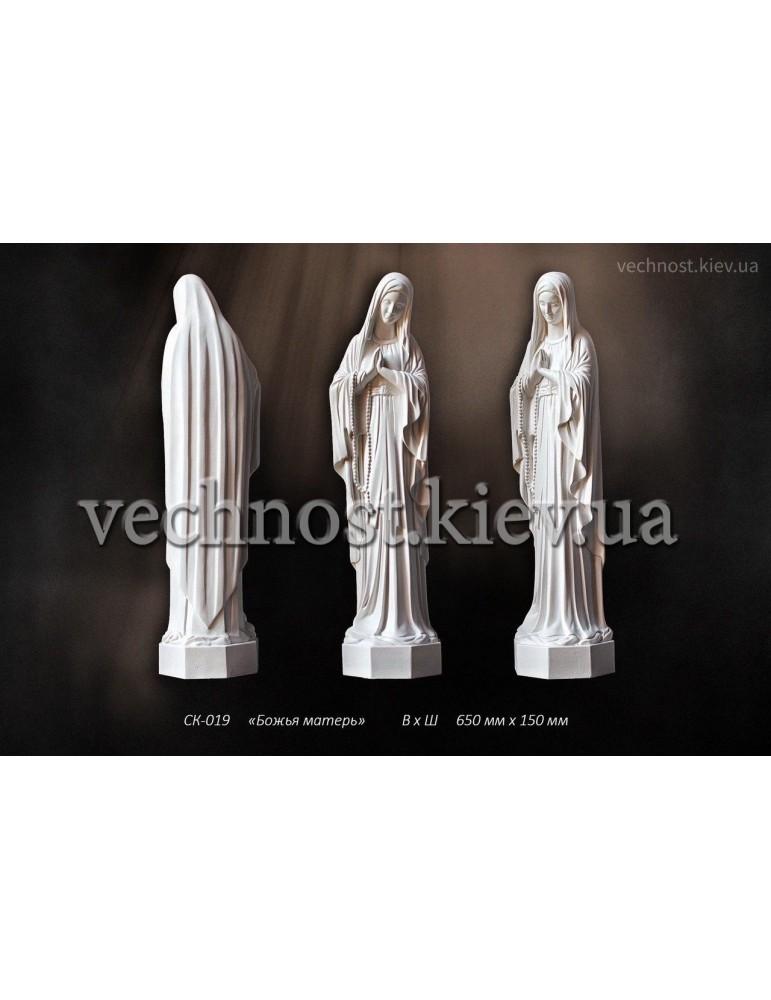 Скульптура Божья Матерь №2