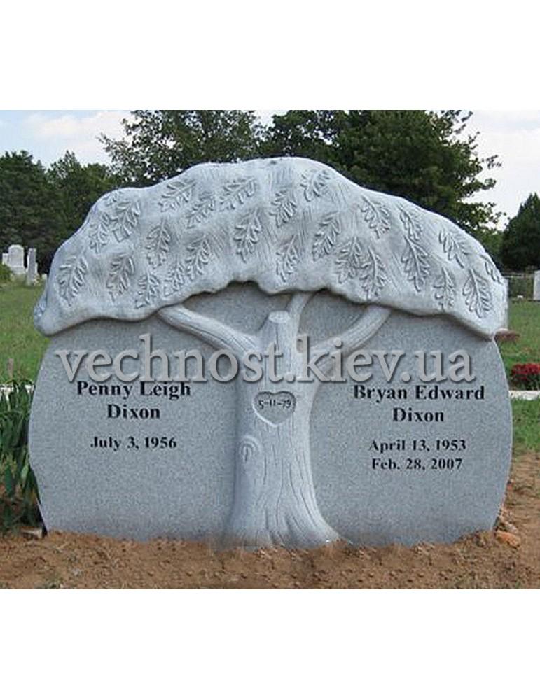 Памятник из гранита Европейский №7