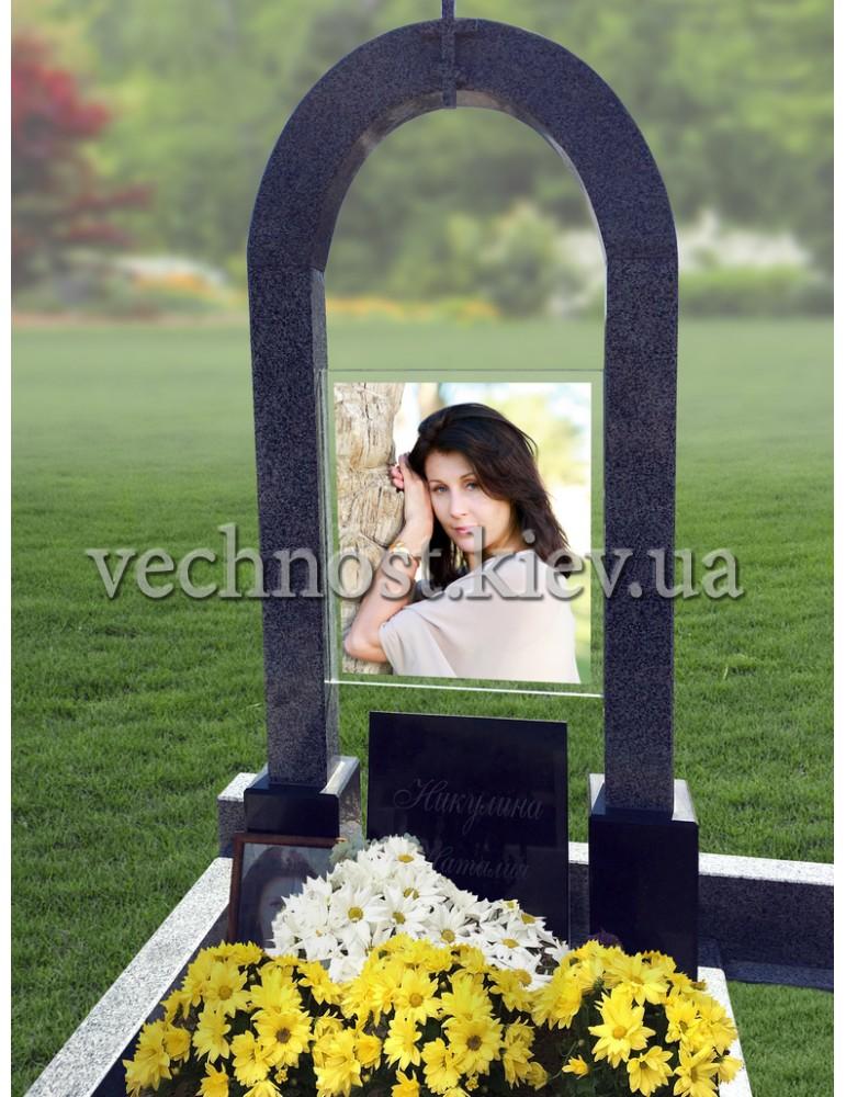 Памятник Арка с фотосклом