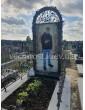Памятник с фотостеклом в полный рост