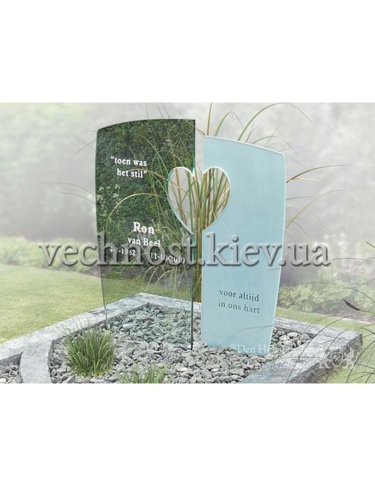 Памятник со стеклом Голландский №13