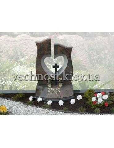 Памятник с сердцем №7