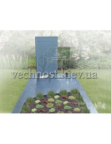 Памятник со стеклом Голландский №10
