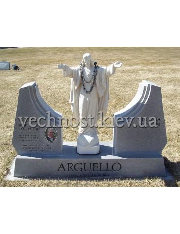 Памятник из гранита Европейский №52