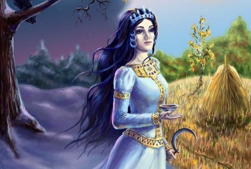 Богиня Загробного Мира