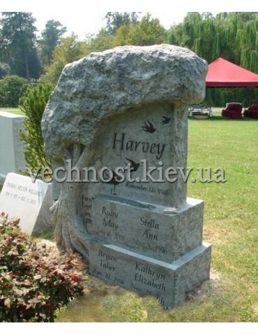 Памятник из гранита Европейский №61