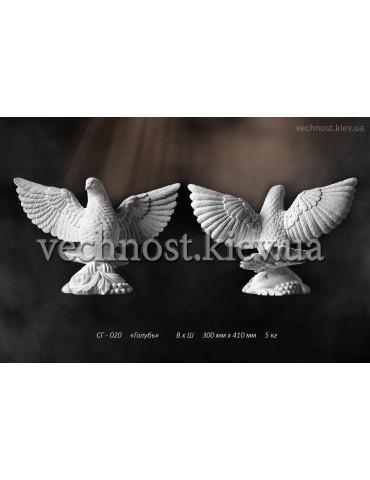 Скульптура голубя