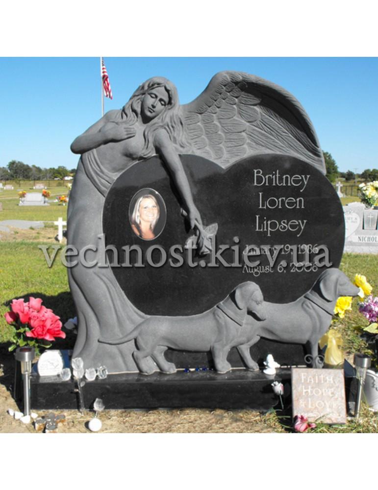 Памятник из гранита Европейский №48