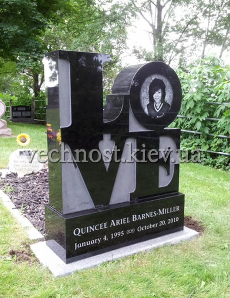 Памятник из гранита Европейский №50