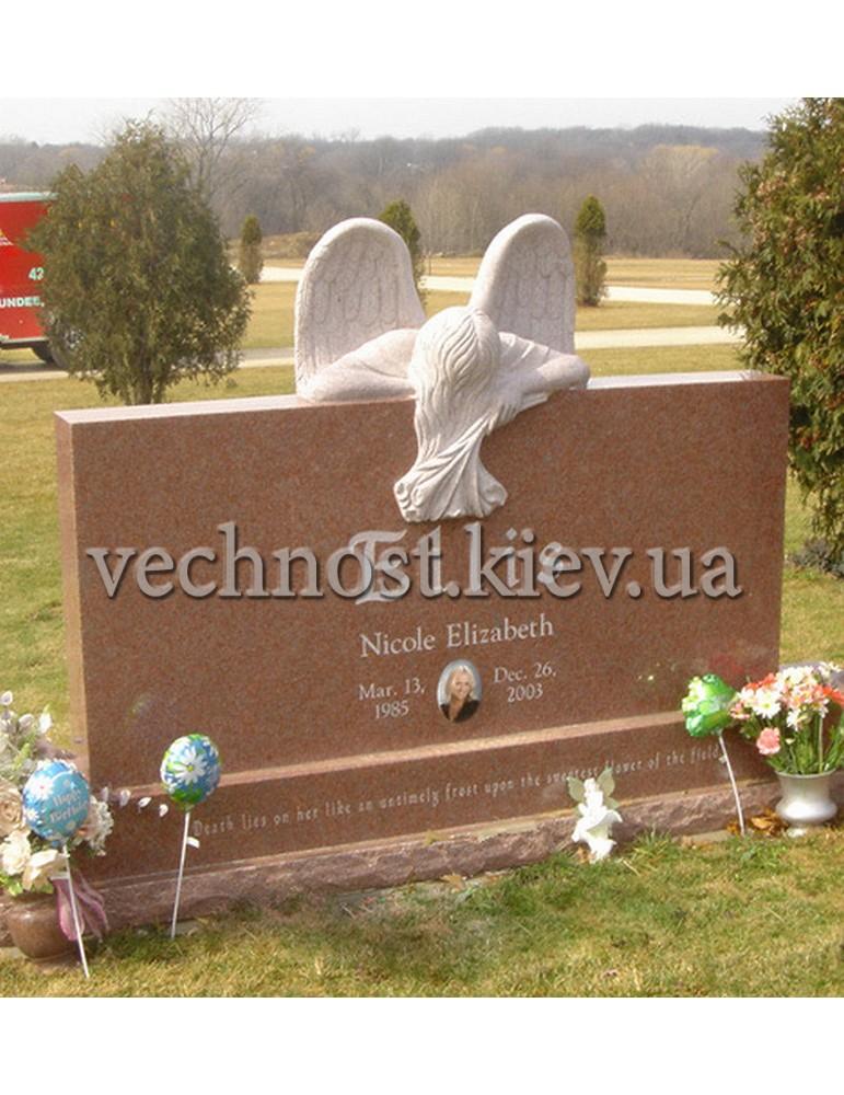 Памятник из гранита Европейский №1