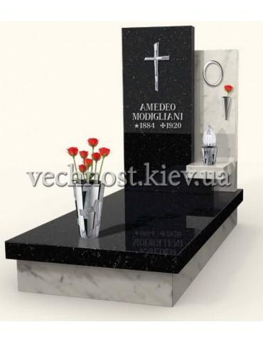 Памятник из мрамора Италия 14