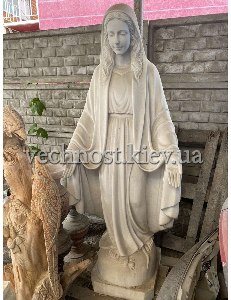 Скульптура (статуя) Божьей Матери в полный рост